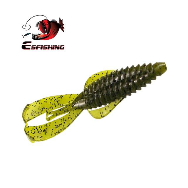Esfishing Lures New Rage Bug Craw 100mm 8.2g 6pcs Fishing Lures Soft Baits Leurre souple Carp Fishing Accessories Rockfishing 5