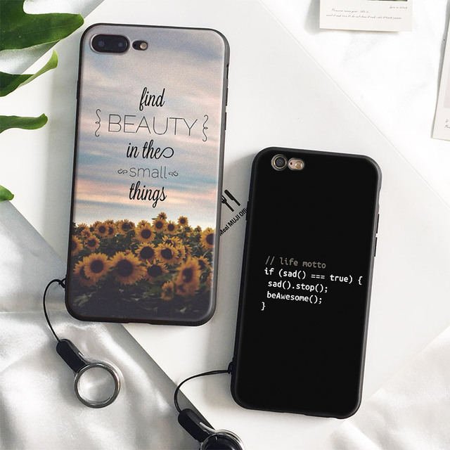coque iphone 8 plus with quotes