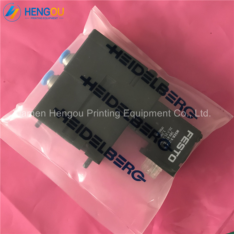 10 Pieces offset SM102 SM74 SM52 printing machine Solenoid Valve M2.184.1111/05 FESTO MEBH-4/2-QS-6-SA FESTO VALVE M2.184.1111