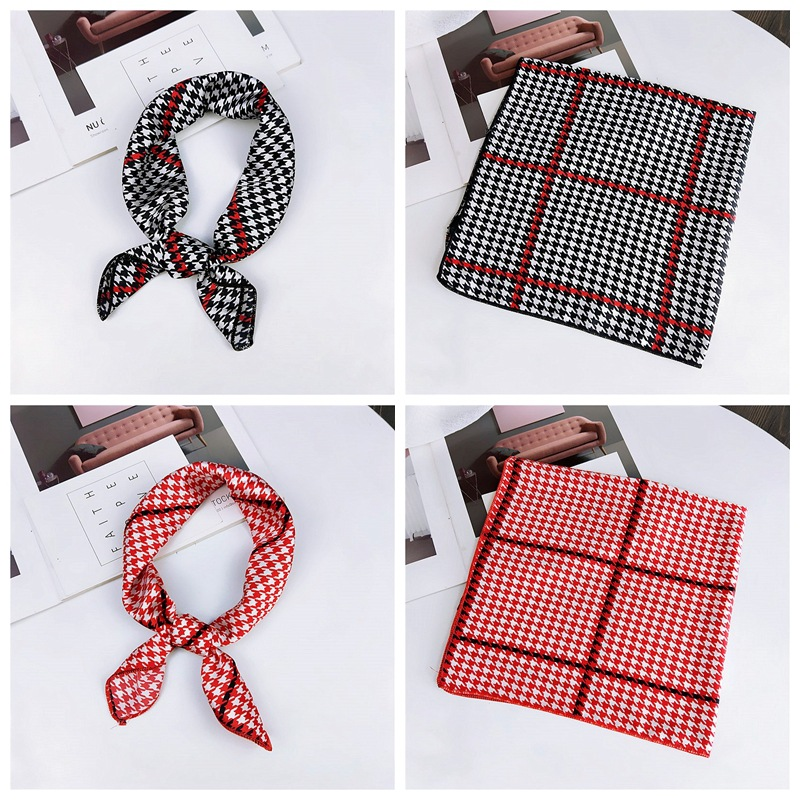 HTB1cz3qbinrK1RjSsziq6xptpXac - fashion Square Scarf Hair Tie Band Party Women Elegant Small Vintage Skinny Retro Head Neck Silk Satin Scarf, square scarves