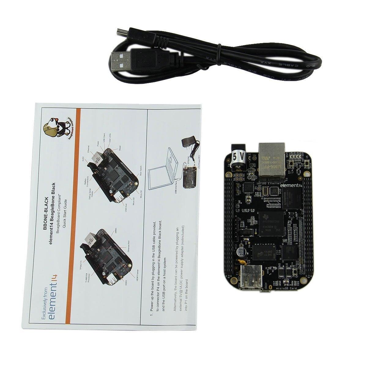 Embest BeagleBone BB Black 1GHz TI AM3358x Cortex-A8 Development Board REV C VersionEmbest BeagleBone BB Black 1GHz TI AM3358x Cortex-A8 Development Board REV C Version