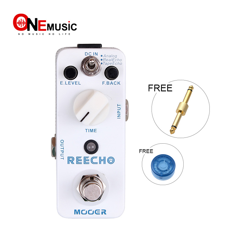 Mooer Micro Series ReEcho Digital Delay Effects Pedal BRAND NEW