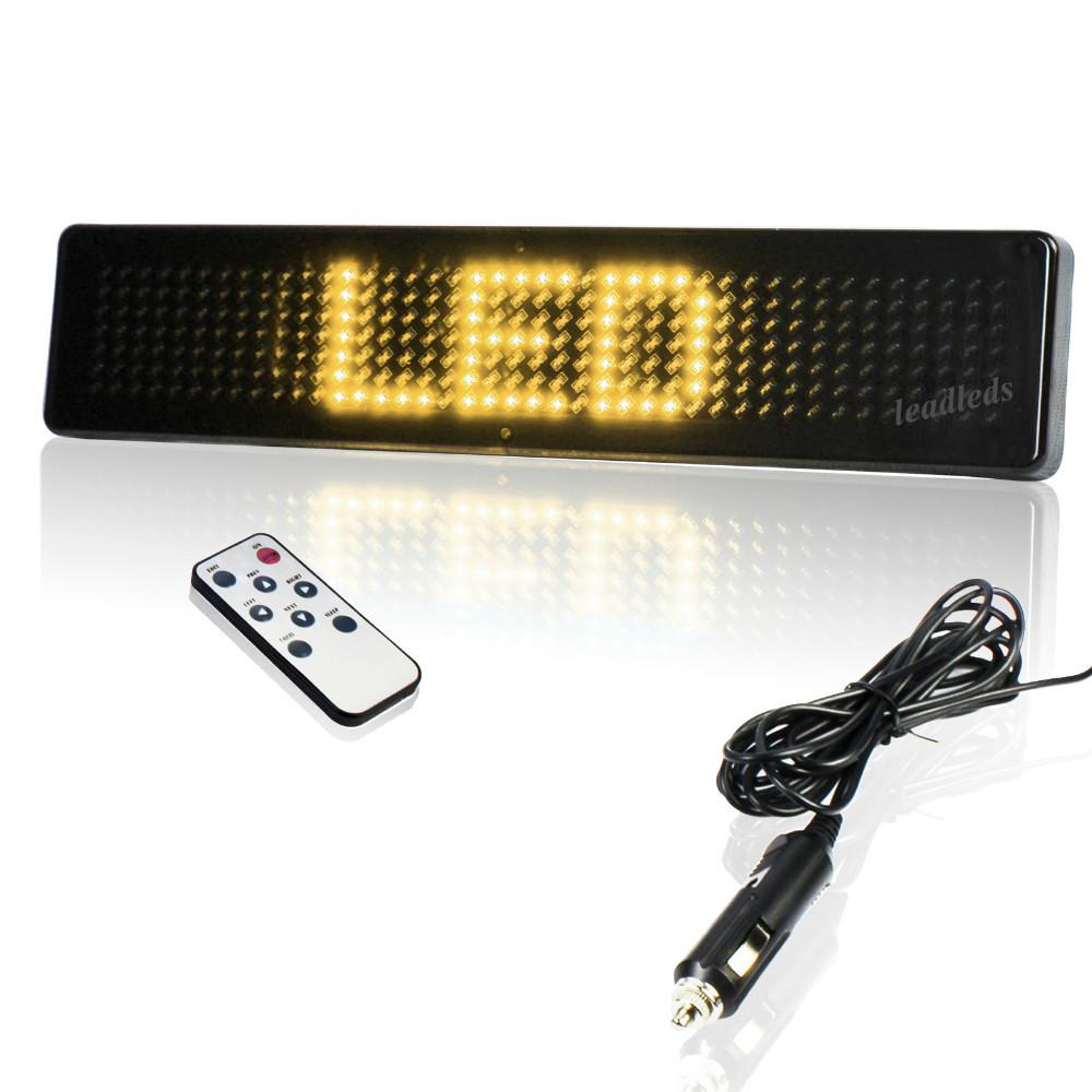 12v-LED-Car-Display-English-Remote-Control-LED-car-Sign-Board-LED-Programmable-Message-led-Sign