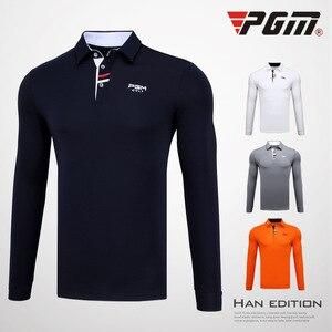 Golf sukienka męska koszula z długim rękawem T-shirt w jesień i odzież zimowa piłeczki do golfa zespół obsługi