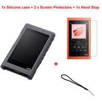 Course de Chameau De Protection En Silicone Souple coque peau Housse Pour Sony Walkman NW A50 A55 A56 A57HN MP3 MP4 Joueur Cas