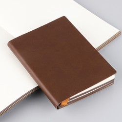 2018 New Arrivals Blank Notebook Diary A5 A6 Size Drawing Painting Travel Journal Brown Blue Sketchbook Office School Supplies