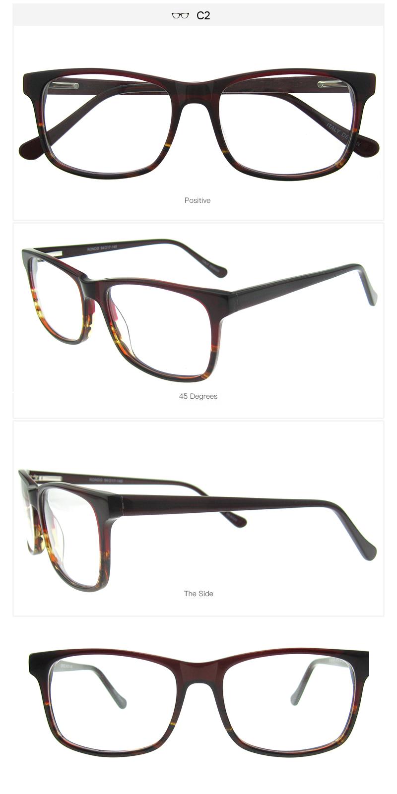 OCCI CHIARI Glasses Men and Women Prescription Nerd Lens Medical ...