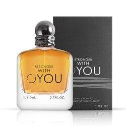 Hombre y señora flor fruta Perfume 2 tipos 110ml mujeres Perfume atomizador hermoso paquete con caja fragancias de moda M28