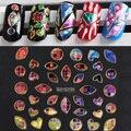 Pegatinas de Uñas 3D Etiquetas Del Arte Del Clavo de Neón de Color al por menor Encantadora Del Clavo de la Decoración DIY Diseño Manicura Herramientas