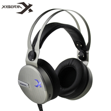 XIBERIA KO Wired Headphones fone Best Gaming Stereo Headset Gamer with Microphone for Computer Game casque audio
