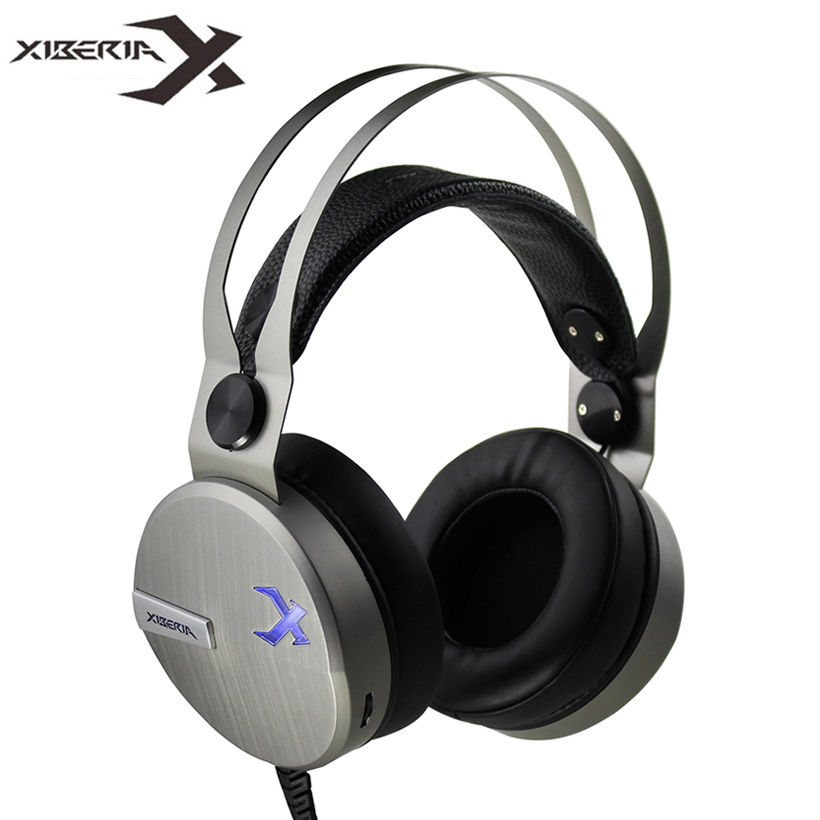 XIBERIA KO Wired Headphones fone font b Best b font Gaming Stereo Headset Gamer with Microphone