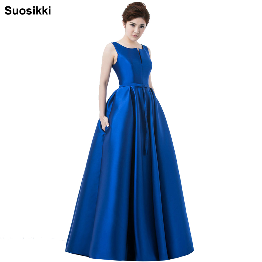 2017 Hot sale elegant evening dresses V-opening back prom formal party dress vestidos de festa style dress free shipping(China)