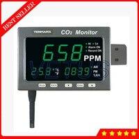 Tm 186 2 в 1 большой светодиодный Экран co2 Мониторы для температуры тестер детектор углекислого газа метр анализатор