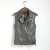 2017 Plus Size Mulheres Brasão Coletes À Prova de Colete De Couro Da Forma Das Mulheres das mulheres Fresco Magro Vest Coats Casual Veste Femme