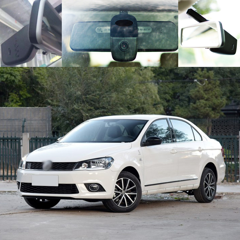 BigBigRoad For vw Jetta Car wifi DVR Video Recorder front camera Car black box dash cam g-sensor Keep Car Original Style bigbigroad for peugeot 3008 app control car wifi dvr dual camera video recorder night vision car black box wdr car dash camera