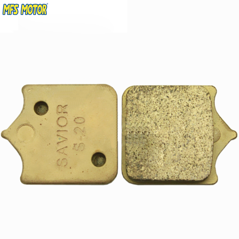MFS MOTOR Motorcycle Accessories Sintered Front Brake Pads For BMW S1000RR 2009 2010 2011 2012