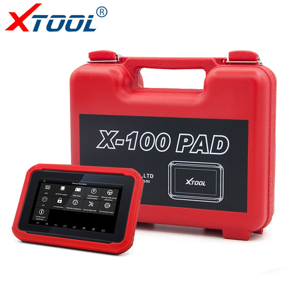 XTOOL X100 PAD OBD2 Automotive Scanner Key Programmer Car Diagnostic tool DPF Odometer Mileage Correction Tool obdprog mt401 multi car brand odometer adjustment via obd2 tool professional change mileage correction adjust for audi benz vw
