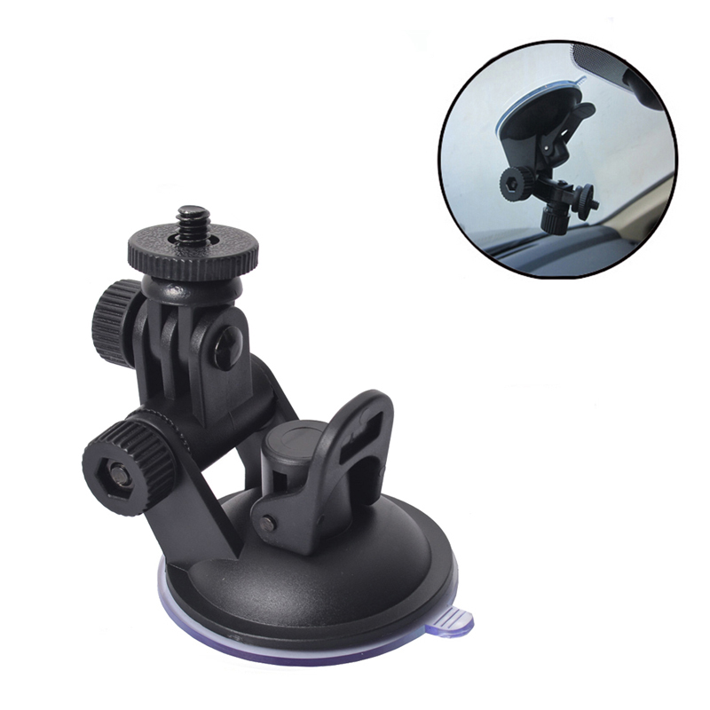 Universal Car dash cam  Mount DVR Bracket Vehicle Suction Cup Base Mount Screw Connector Rack DVR GPS Camera Stand Holder