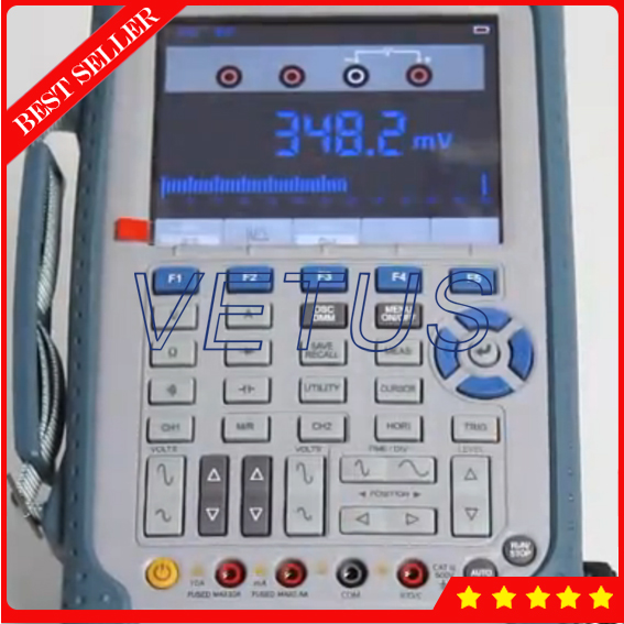 DSO1062B Digital oscilloscope price with Handheld Oscilloscope /Multimeter 60MHz 1Gsa/S 2 Channels updated from dso 1060 hantek dso1062b handheld oscilloscope 2 channels 60mhz 1gsa s sample rate 1m memory depth 6000 counts dmm