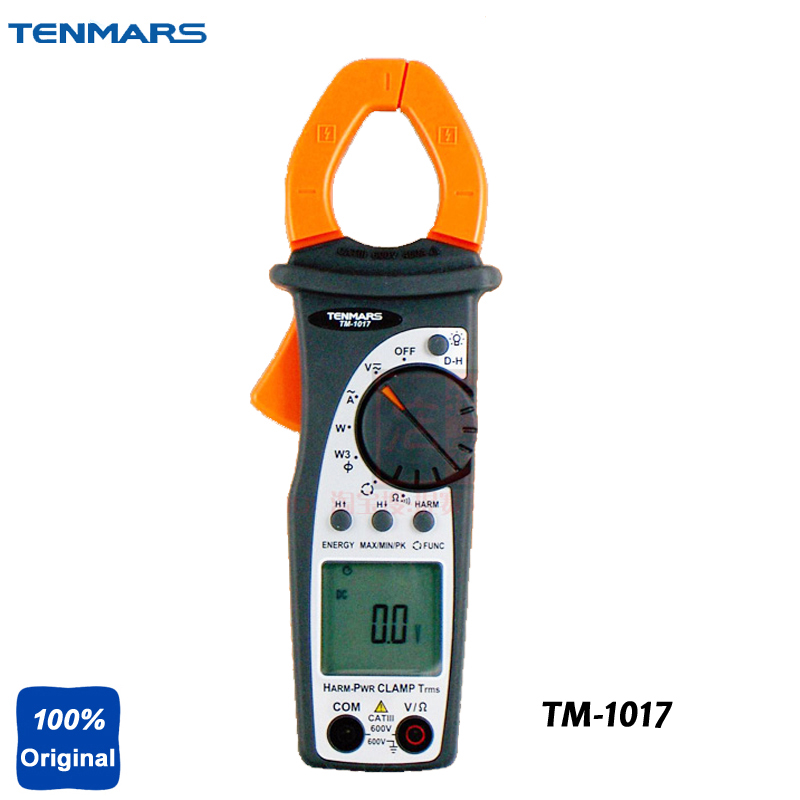 400A Ture RMS AC Power Clamp Meter Phase Rotation Tester TM1017