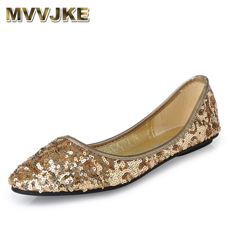 MVVJKE 2018 Summer Women Flats Cut-outs Comfortable Women Casual Shoes Bling Pointed Toe Boat Shoes Breathable Big Size Woman Sh 2017 autumn fashion real leather women flats moccasins comfortable summer ladies shoes cut outs loafers woman casual shoes st181