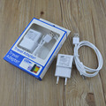5V 2A LED AC EU/US USB Plug Travel Wall Charger adapter + Micro USB Cable for Samsung Galaxy S4 S3 S5 S6 Note 3 Note 2 4 HTC LG
