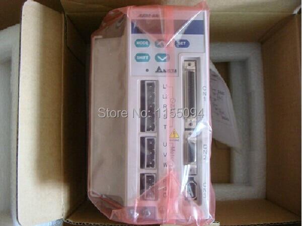 1ph 220V 1KW 6.2A Encoder Resolution 2500ppr ASD-A1021-AB Detla AC servo Drive  New delta servo controller asd a1021 ab 220v 1phase 1000w 1kw replacement parts