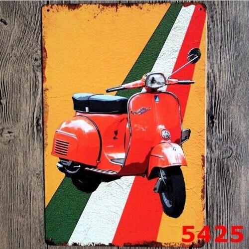 Metal Tin Sign classic motorcycle Decor Bar Pub Home Vintage Retro Poster