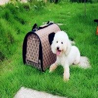 2016 Nuevo Pet Puppy Dog Cat Dog Carrier Carrier para Pequeños grandes Perros Carrier Bolsa de Viaje Suave Envío Libre 15 Colores Disponibles
