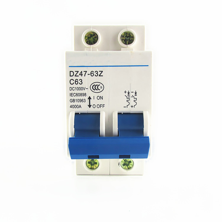 DZ47-63 2P 6A 10A 16A 20A 25A 32A 40A 50A 63A Mini Circuit Breaker MCB Cutout Switch Breaker Switch Chopper dz47 100h 63a 2p ac 230v or 400v mini circuit breaker mcb cutout switch breaker switch chopper 2pcs