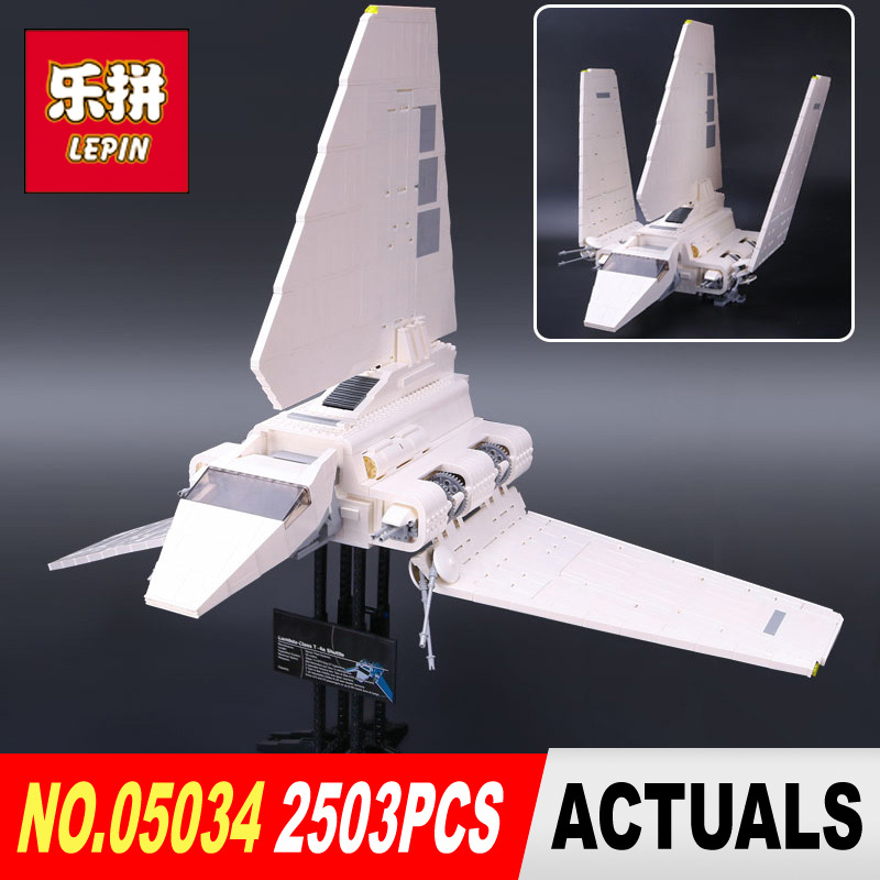 LEPIN 05034 Series STAR The Shuttle Educational Building Assembled Blocks Bricks Toy Compatible legoed 10212 children Gifts WARS new 1685pcs lepin 05036 1685pcs star series tie building fighter educational blocks bricks toys compatible with 75095 wars