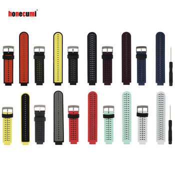 Honecumi 10 PACK For Garmin Forerunner 235 Watch Band Bracelet For Garmin Forerunner 220/230/620/630/735XT Watchband Strap