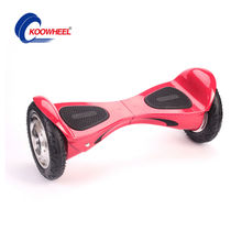 2017 Koowhee Smart Hoverboard 10 Inch Bluetooth Electric Scooter 2 Wheels Self Balance Scooters Inflatable Tires Hover Board(China)