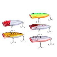 Long casting 5pcs 13g/6.5cm Multi-color Hard Bionic Fishing Lures Artificial Baits quality professional minnow
