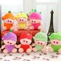 11 cm/15 cm 8 estilo Morango Melancia porco brinquedos de pelúcia Otário pig stuffed plush boneca de pano presente de Atividades brinquedos do bebê crianças