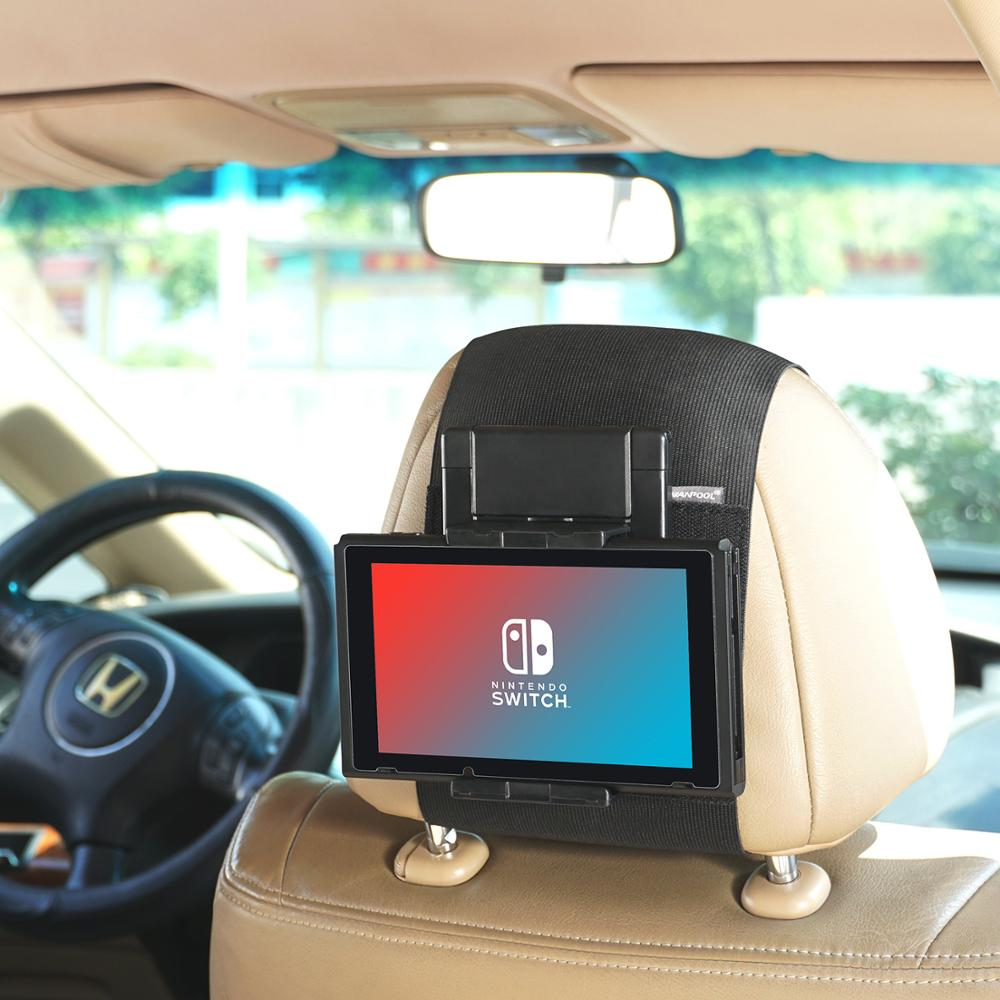4 iPad Air WANPOOL Car Headrest Mount for iPad 2 Air 2 iPad Pro 9.7 and Other Androids Kids Tablets 3 Beige