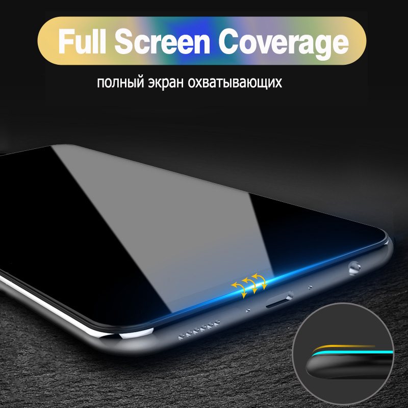 9D Curved Protective Tempered Glass For Xiaomi Redmi Note 7 Glass Note 5 5A 6 Screen Protector For Redmi 5 5A 6 Pro 6A Plus Film