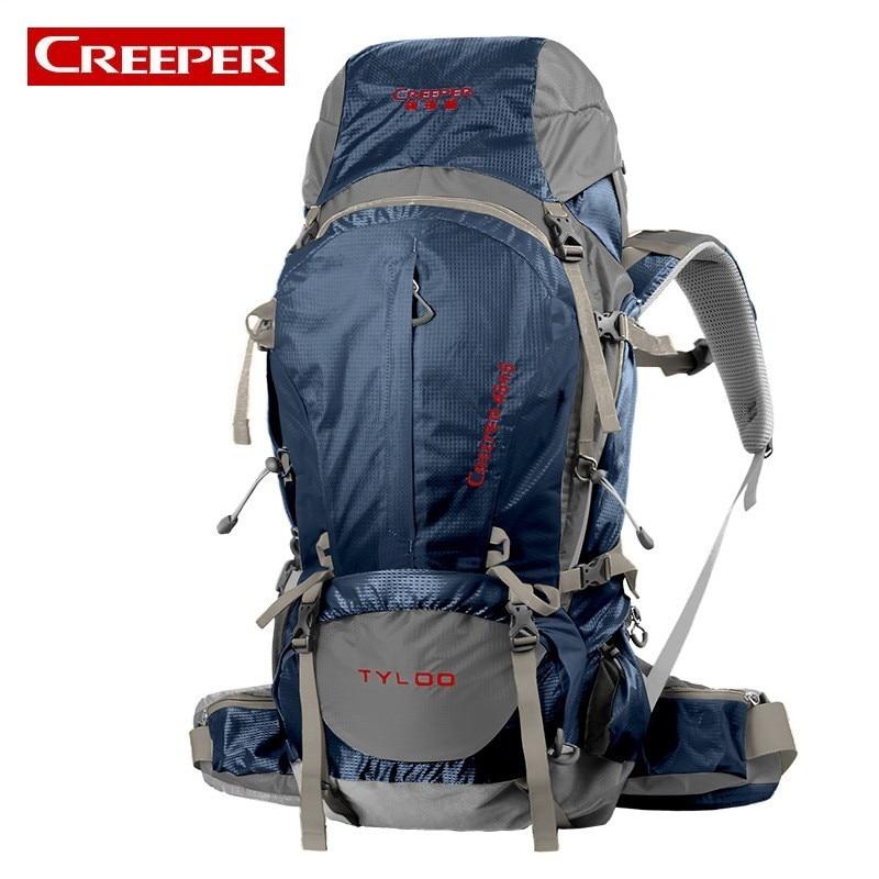 High Quality Professional Mountain Climbing Backpack Large Capacity 50L 70L Camping Sports Bag Nylon Breathable Waterproof Bags виброплита бензиновая tsunami со 70l
