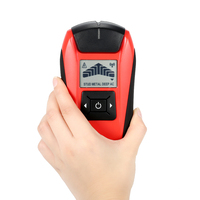 Multifunctional LCD Wall Detector Handheld Stud Finder Metal Wood Studs AC Cable Live Wire Scanner Tester