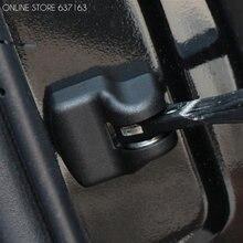 Cubierta protectora para el brazo de la puerta del coche, accesorio para Toyota Corolla Prius RAV4 Camry Reiz Venza Highlander Prado Sequoia, 4 unids/lote