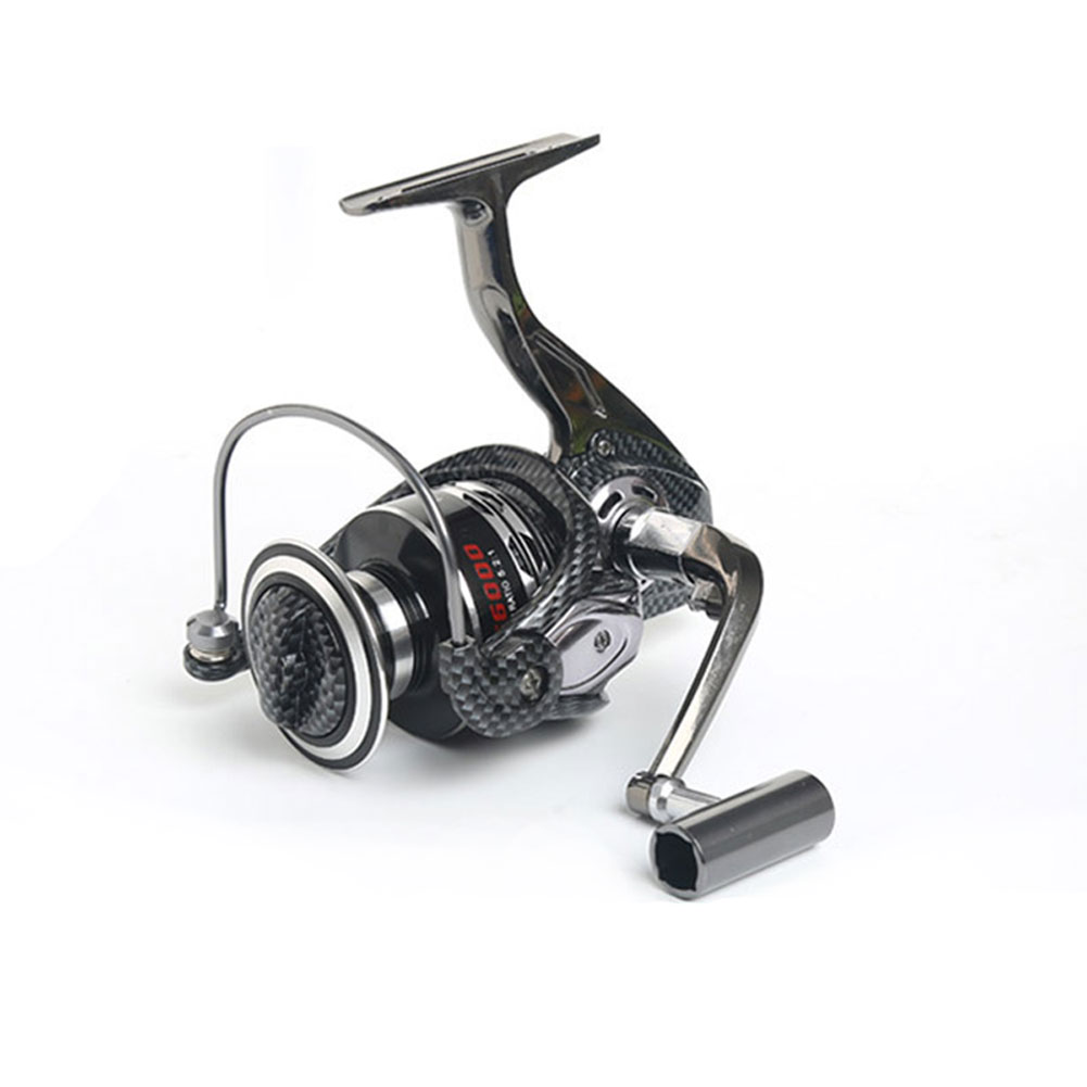 High Quality 13BB Metal Fishing Reel Free Runner Carp Fish Spinning Wheel 5.2:1 Speed Ratio Fishing Tool Accessories B2Cshop
