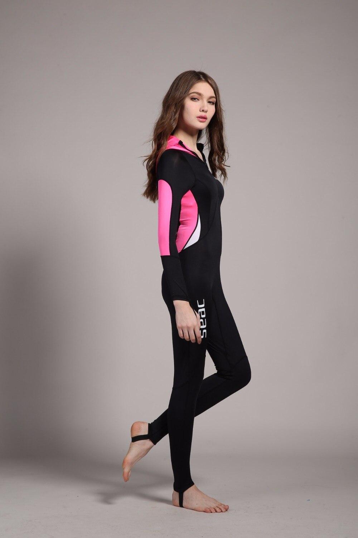 2ff7b46130 Full body waterproof one piece suits swimwear women men long sleeve jpg  1000x1500 Uva womens bodysuit