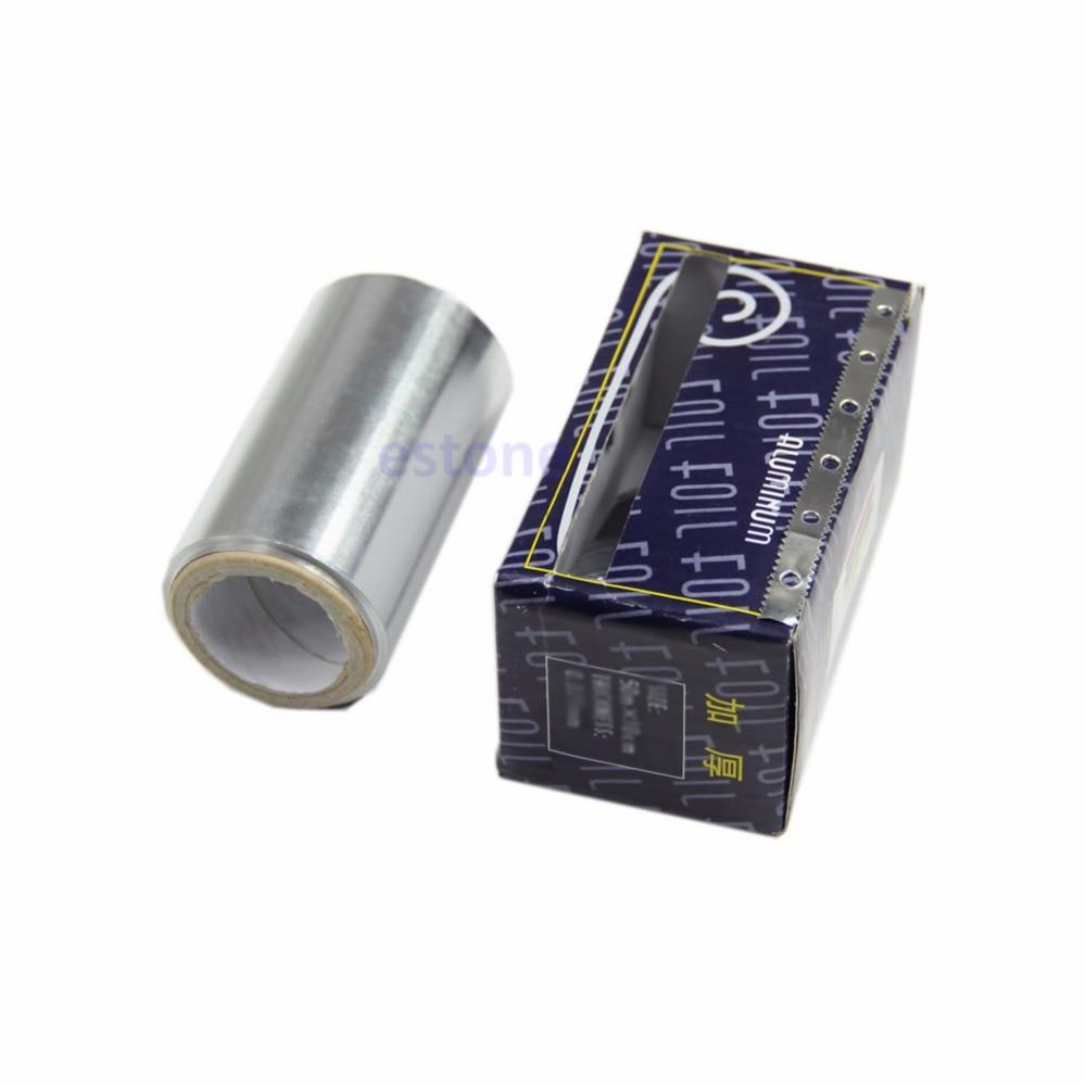 6M Thick Hairdressing Standard Art Hair Nail Tinfoil Aluminum Foil