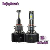 2x plug & play 100 w 10000lm/set lâmpadas h10 hb3 9005 auto moto farol dianteiro do carro 9006 hb4 9005 hb3 faróis de condução de veículos automóveis