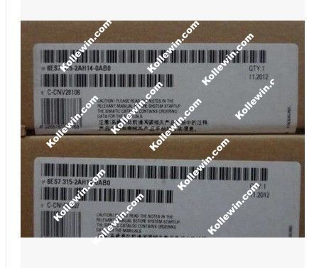 Original 6ES7315-2AH14-0AB0 SIMATIC S7-300 CPU, NEW 6ES73152AH140AB0 with MPI Interface, 24 V DC 256 KBYTE, 6ES7 315-2AH14-0AB0 termica ah 6 300 tc