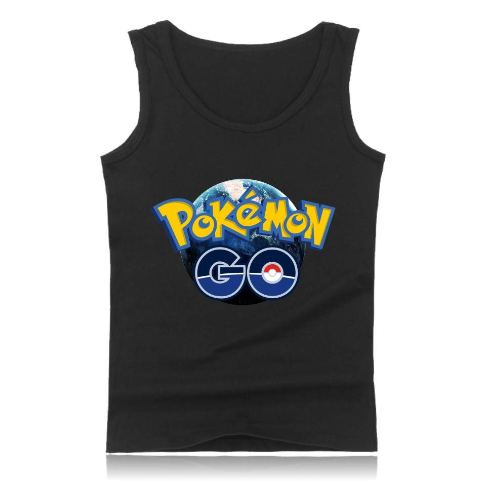 LUCKYFRIDAYF Valor Mystic Instinct Pokemon Go Tank Tops Men Women Summer Clothes Print Pocket Monster Funny Games Tees