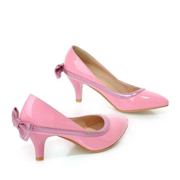 Online Get Cheap Hot Pink Mid Heels -Aliexpress.com | Alibaba Group