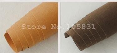 Frete grátis atacado lavável papel kraft tecido de couro retalhos diy