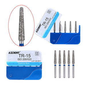 Image 3 - 100pcs/20Boxes Dental Diamond Burs Drill Dental Burs Dia burs for High Speed Handpiecess Medium FG 1.6M Dentist