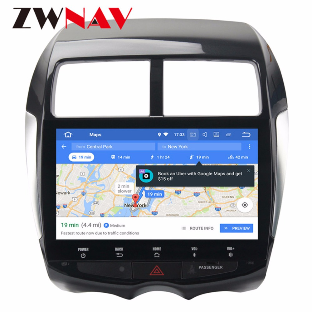 Android 9 0 PX5 8 Core 4Gb+32Gb IPS Screen GPS autoradio navigation head  unit multimedia for Mitsubishi ASX Citroen C4 2din 2din